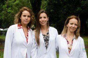 Cleide, Dra. Aline e Silvia