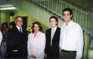 Dr. Duarte, Dra. Madalena, Dr. Wilton e Dr. Matheus